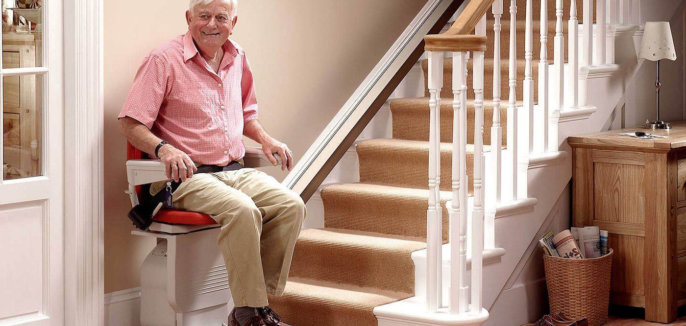 High Quality Https://washington.cainsmobility.com/wp Content/uploads/sites/48/2015/12/seattle Man Using  Stair Lift